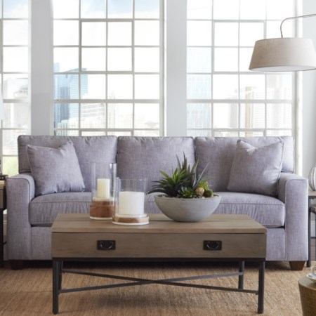 Queen Innerspring Sleeper Sofa