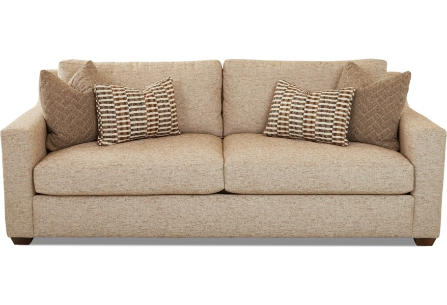 Sofa With Down Blend Cushions