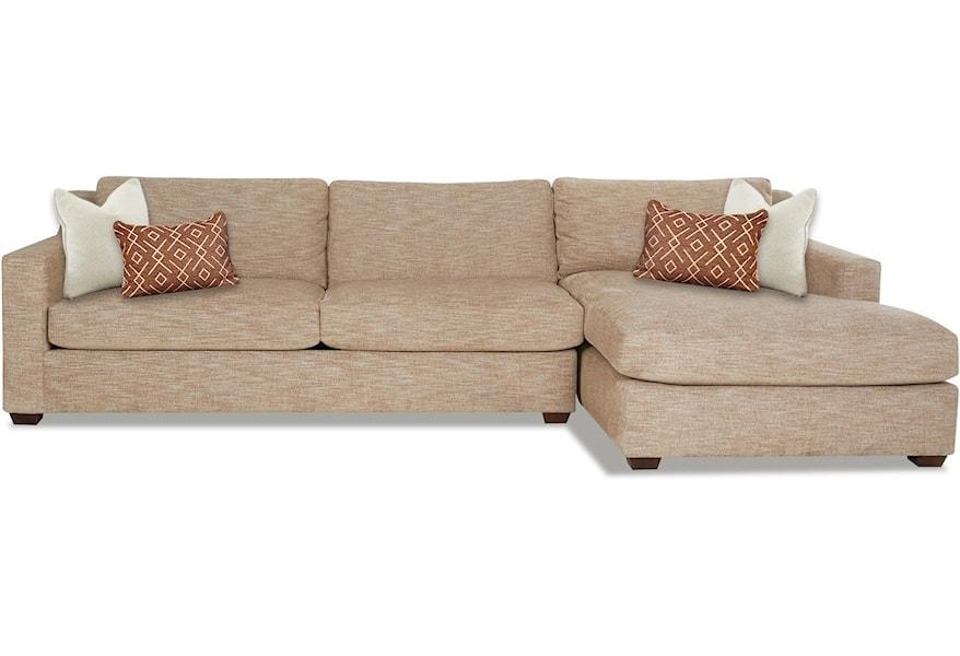 Klaussner Novato 3 Seat Chaise Sofa