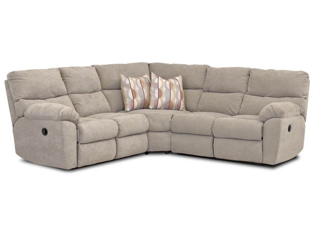 Klaussner OdessaReclining Sectional