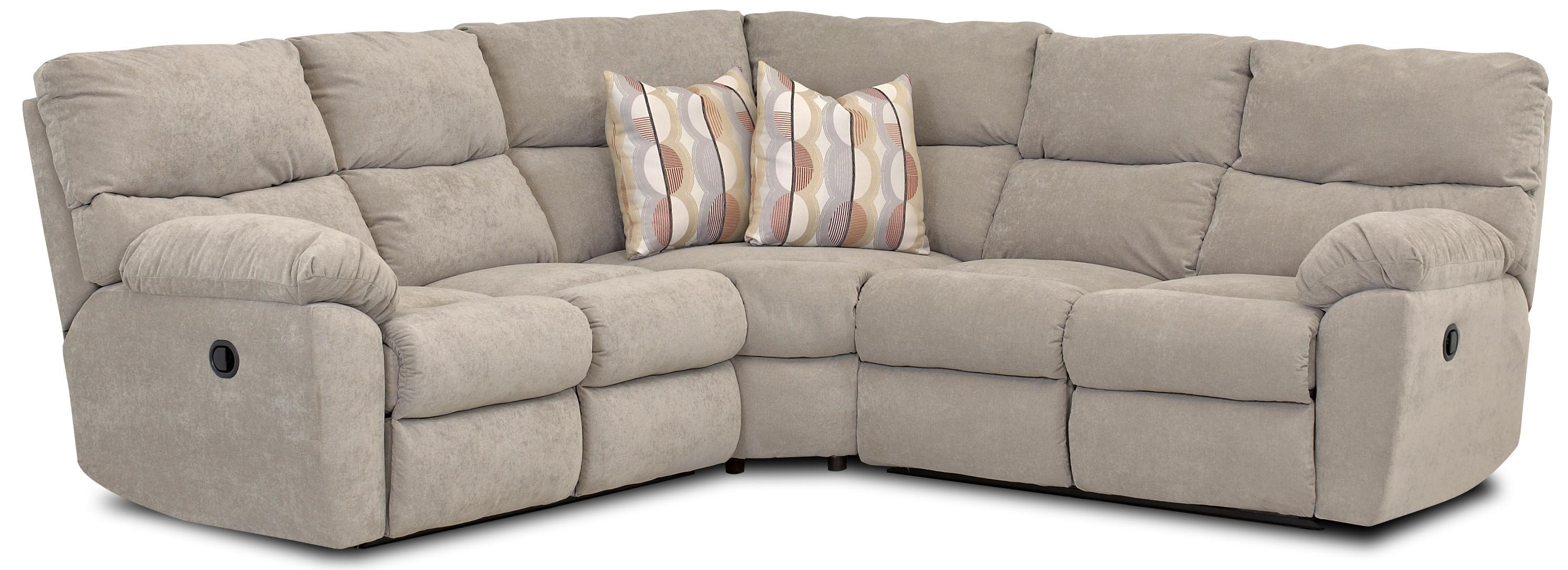 Klaussner Odessa Casual Power Reclining Sectional with Accent Pillows - Johnny Janosik - Reclining Sectional Sofa  sc 1 st  Johnny Janosik & Klaussner Odessa Casual Power Reclining Sectional with Accent ... islam-shia.org