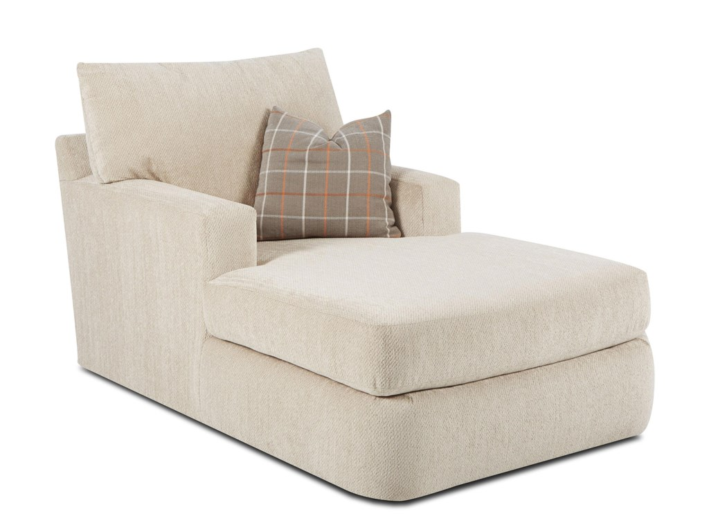 Klaussner OliverContemporary Chaise