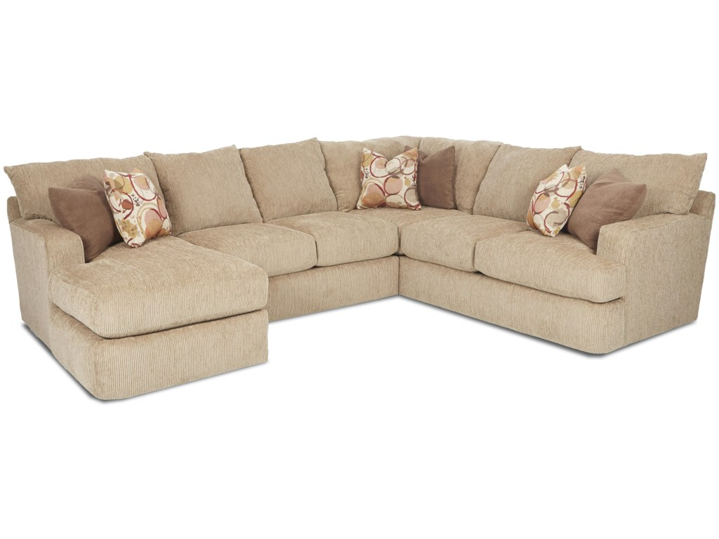 Klaussner OliverSectional Sofa