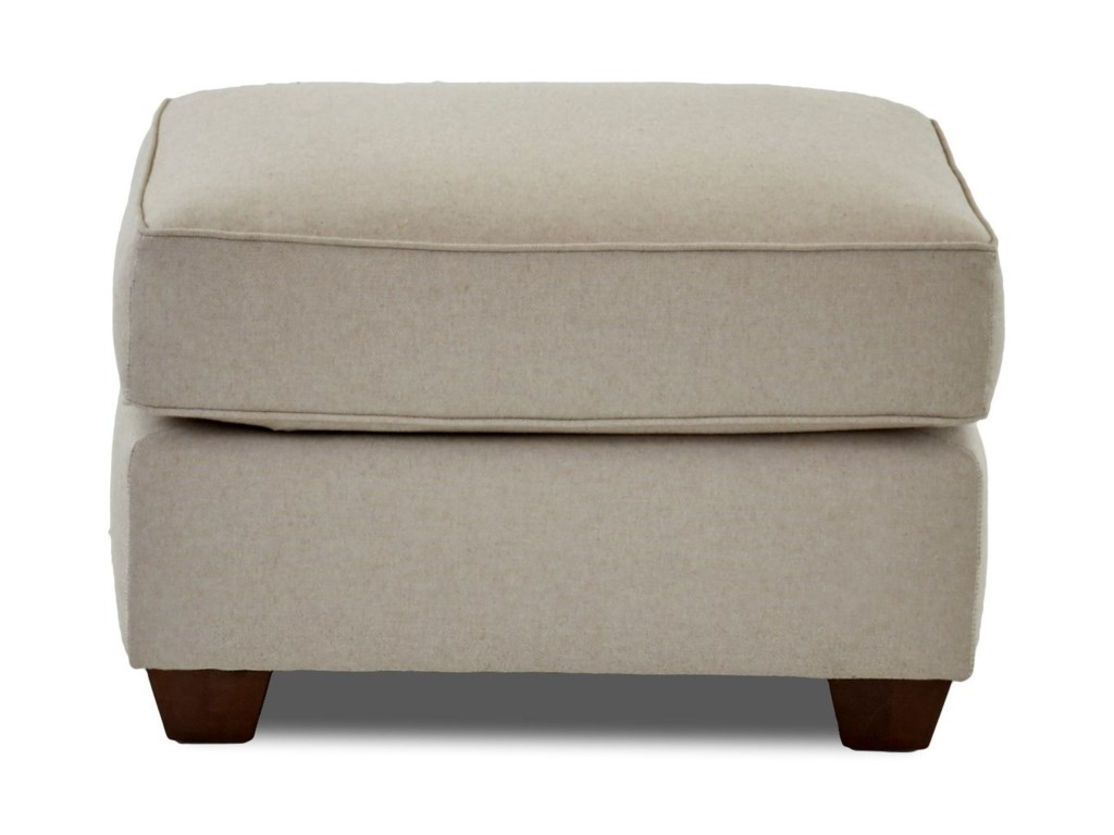 Elliston Place OliviaUpholstered Chair and Ottoman