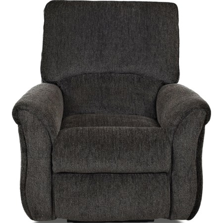 Transitional Gliding Reclining Chair