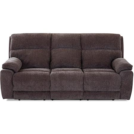 Power Reclining Sofa w/ Pwr Headrests