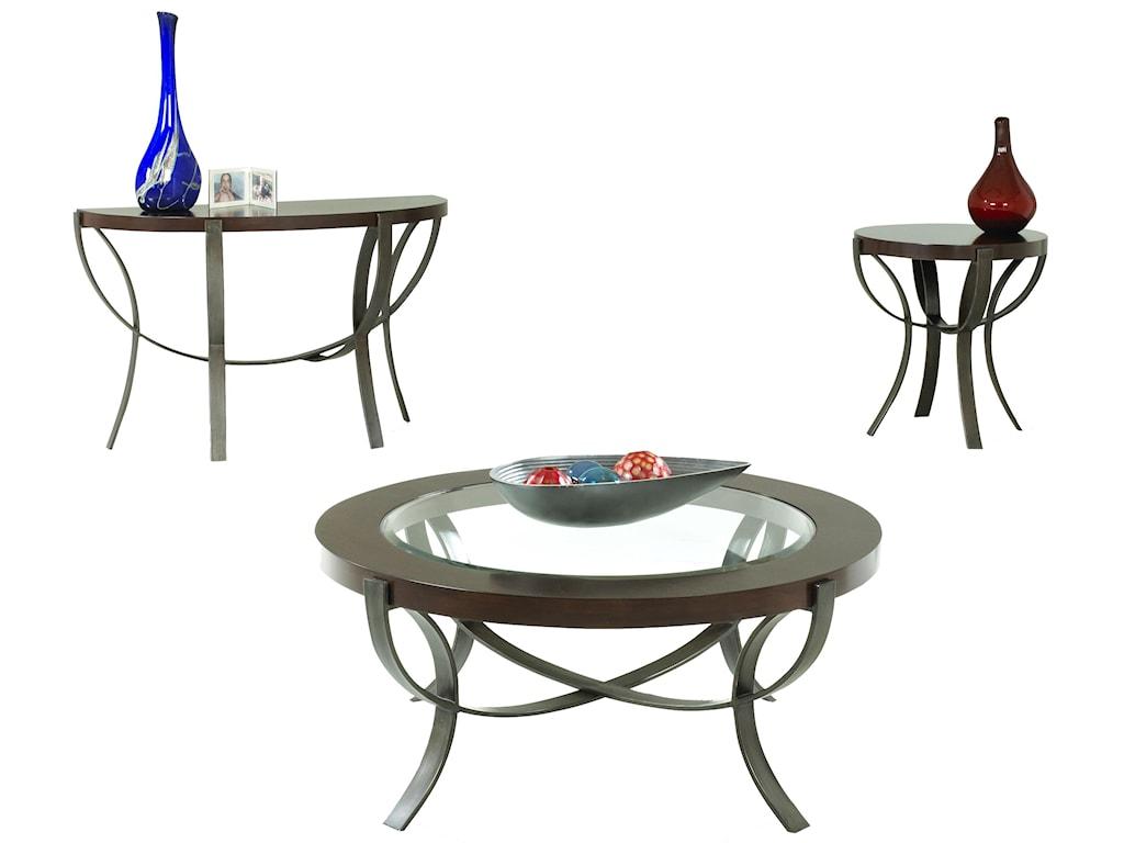 Metropia International OnslowEnd Table