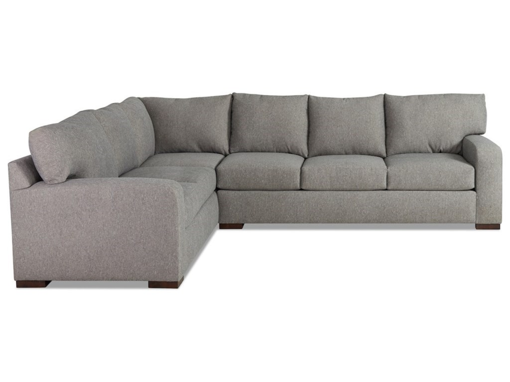 Klaussner Pace5-Seat Sectional Sofa w/ RAF Sofa