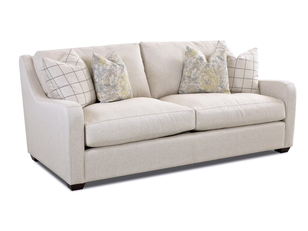 Klaussner PandoraTransitional Stationary Sofa
