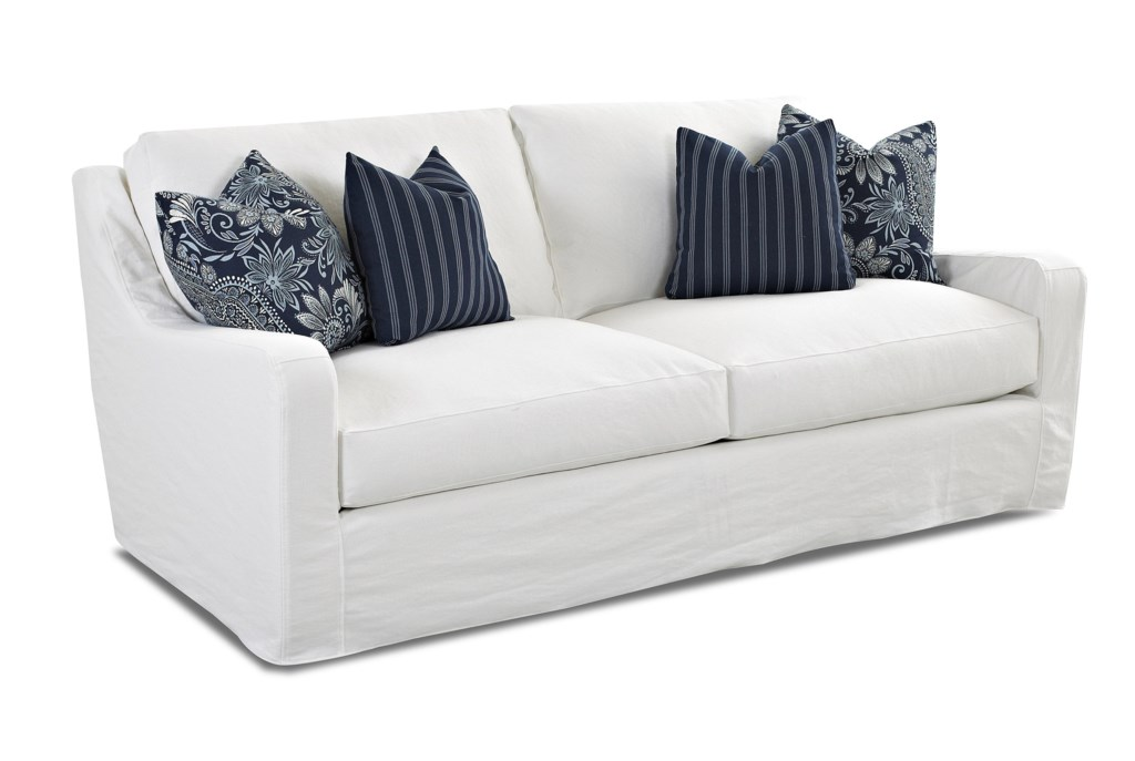 Elliston Place Pandora Transitional Sofa With Slipcover Morris  ~ What Is A Transitional Sofa
