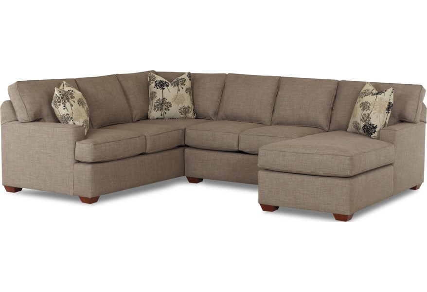 Piece Sectional Sofa With Raf Chaise