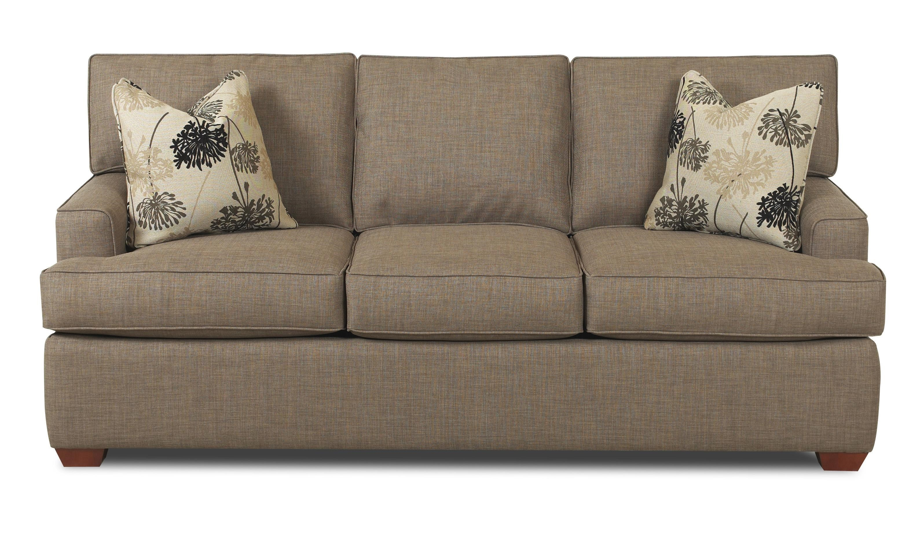 Sofa with Low Profile Track Arms