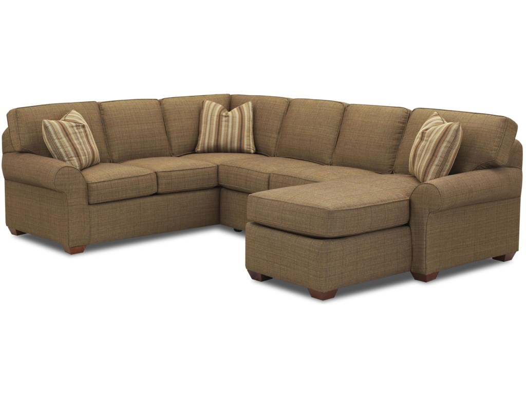 Klaussner PatternsSectional Group with Chaise