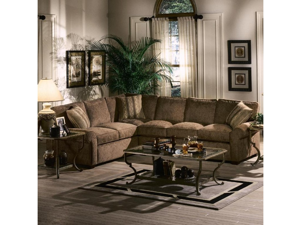 Klaussner PatternsSectional Sofa Group