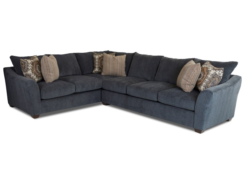 item klaussner ahfa with grady by right sofa chaise contemporary products sectional