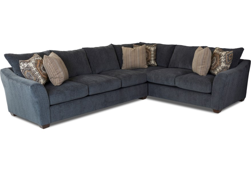 Klaussner Pinecrest Two Piece Sectional