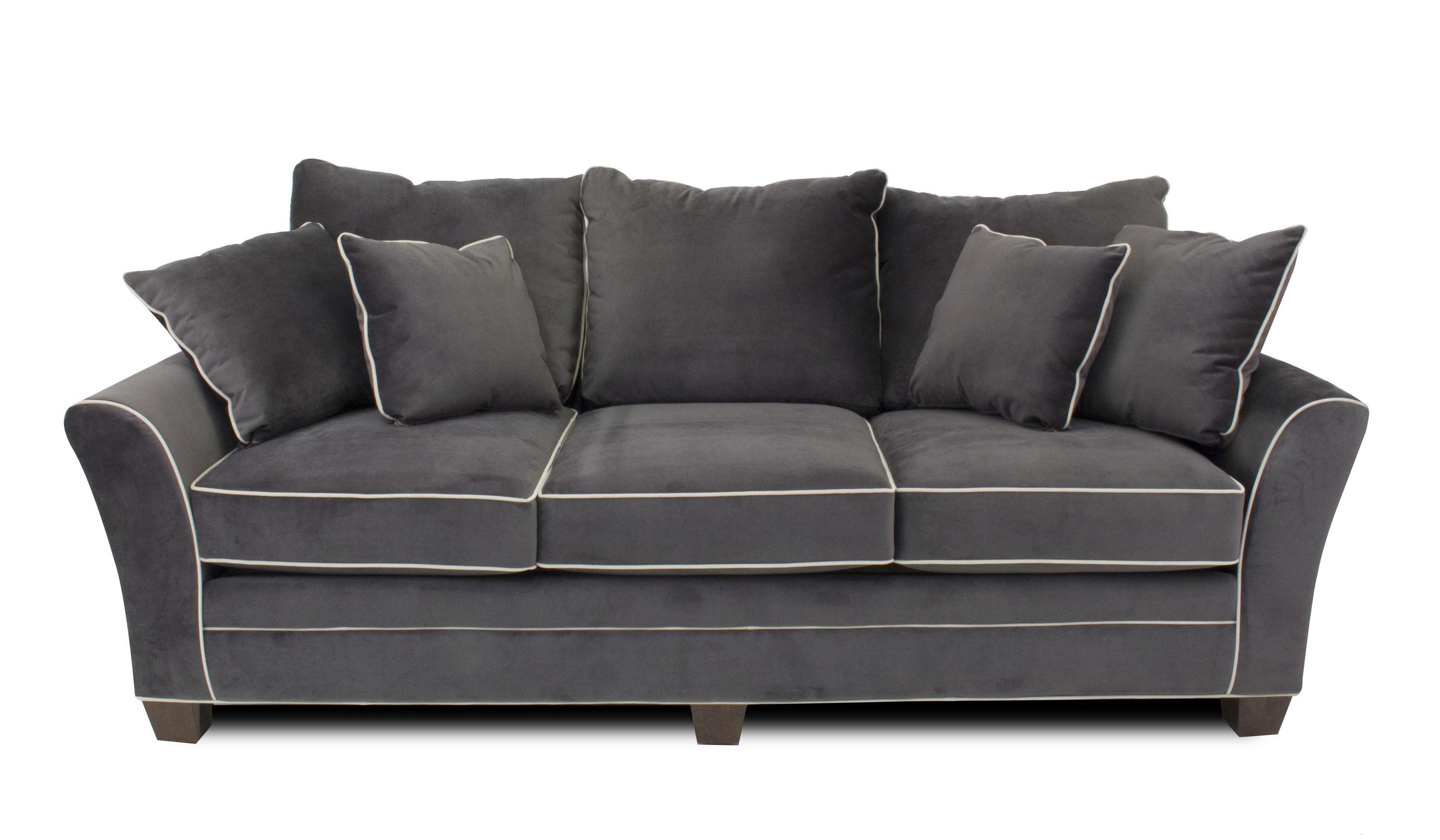 Metropia ParkerStationary Contemporary Sofa ...