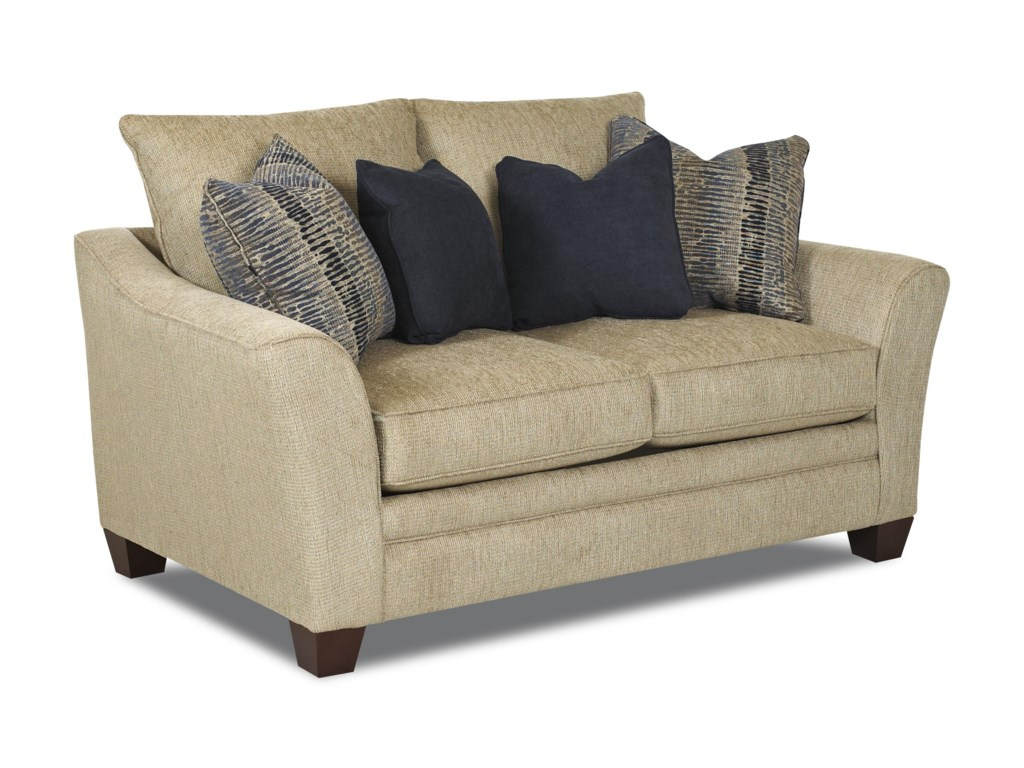 Klaussner PosenContemporary Loveseat