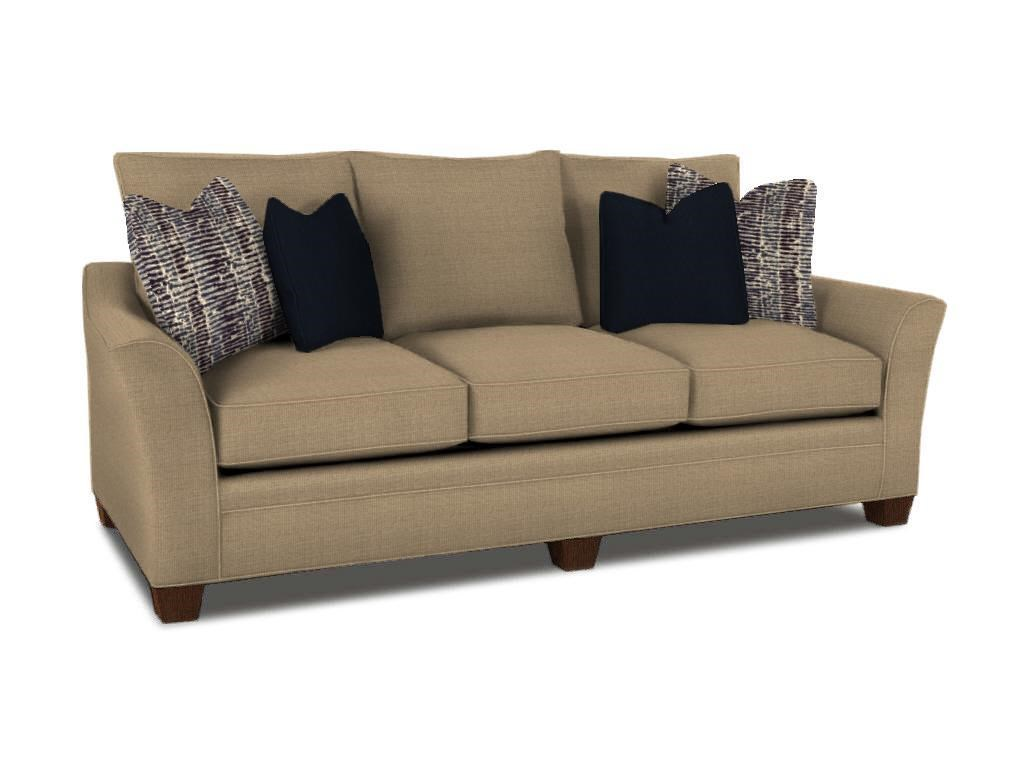 Klaussner Posen S Contemporary Sofa with Block Feet