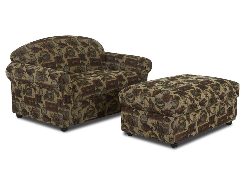 Elliston Place PossibilitiesChair Sleeper with Ottoman
