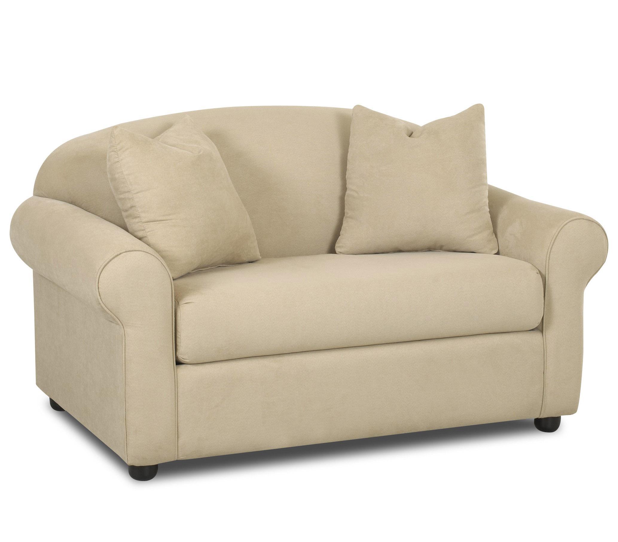 Klaussner Possibilities Innerspring Chair Sleeper Wayside Furniture Sleeper Sofas