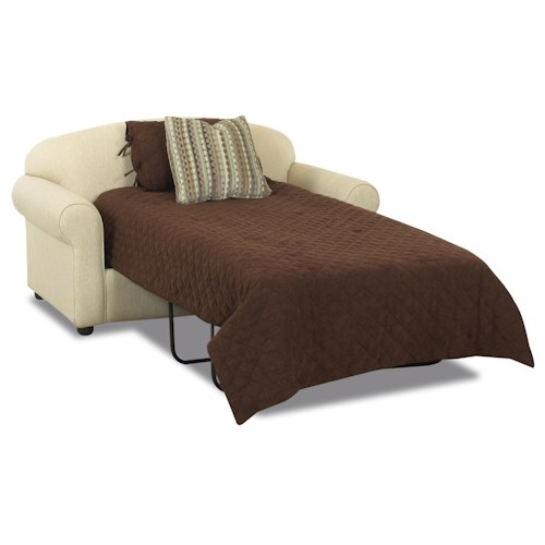 Klaussner Possibilities Innerspring Twin Sleeper Loveseat Value City Furniture Sleeper Sofas