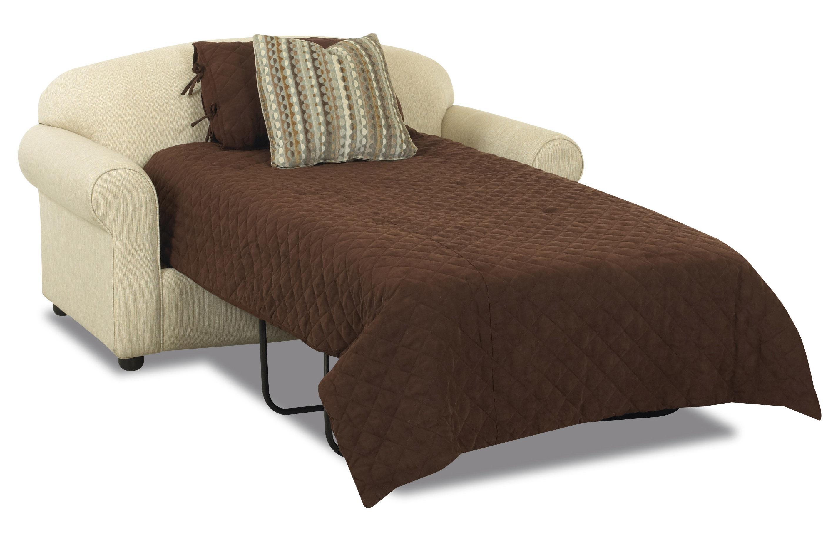 Klaussner Possibilities 500 ITSL Innerspring Twin Sleeper Loveseat |  Hudsonu0027s Furniture | Sleeper Sofas