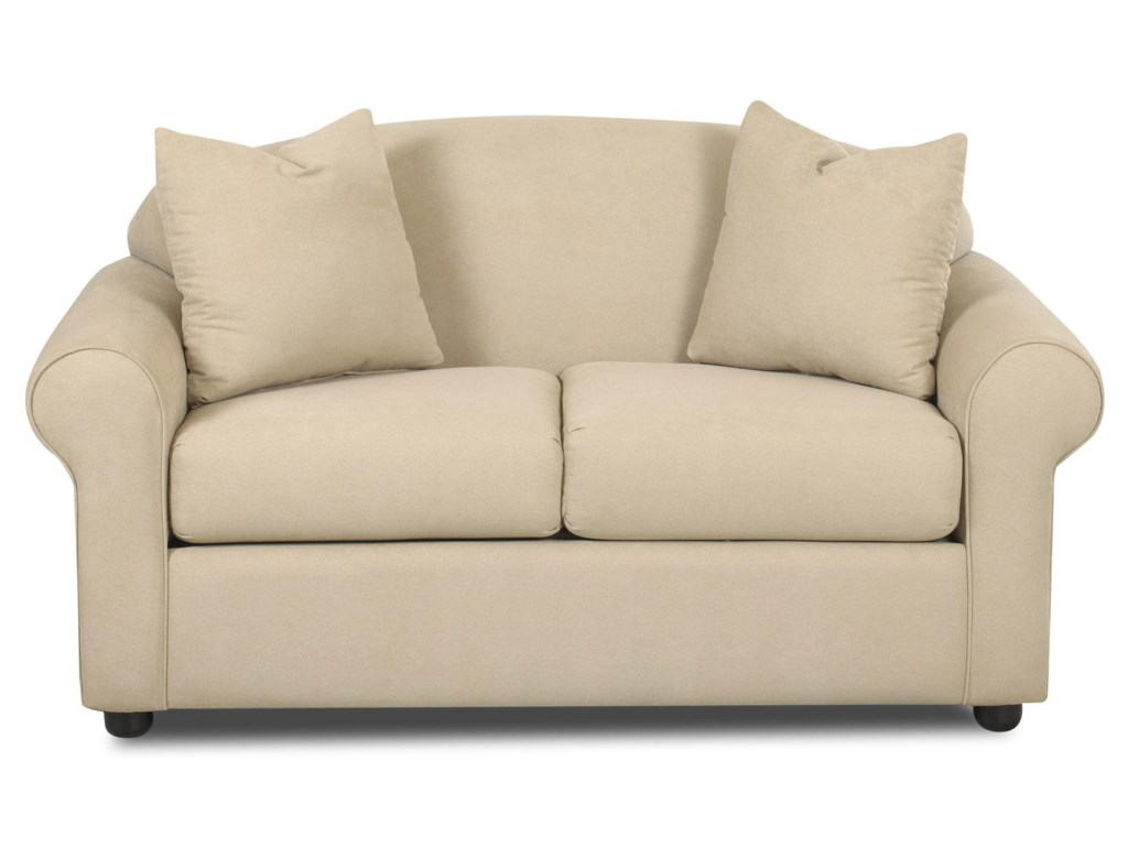 Klaussner PossibilitiesLow Profile Loveseat
