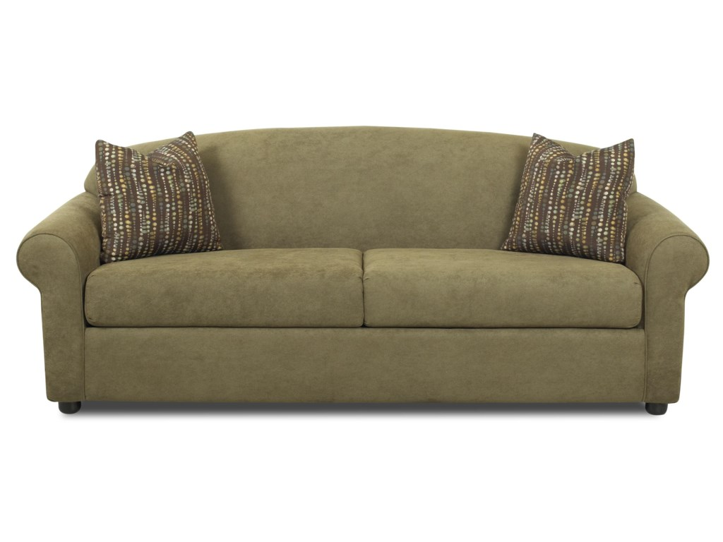 Klaussner PossibilitiesRolled Arm Sofa