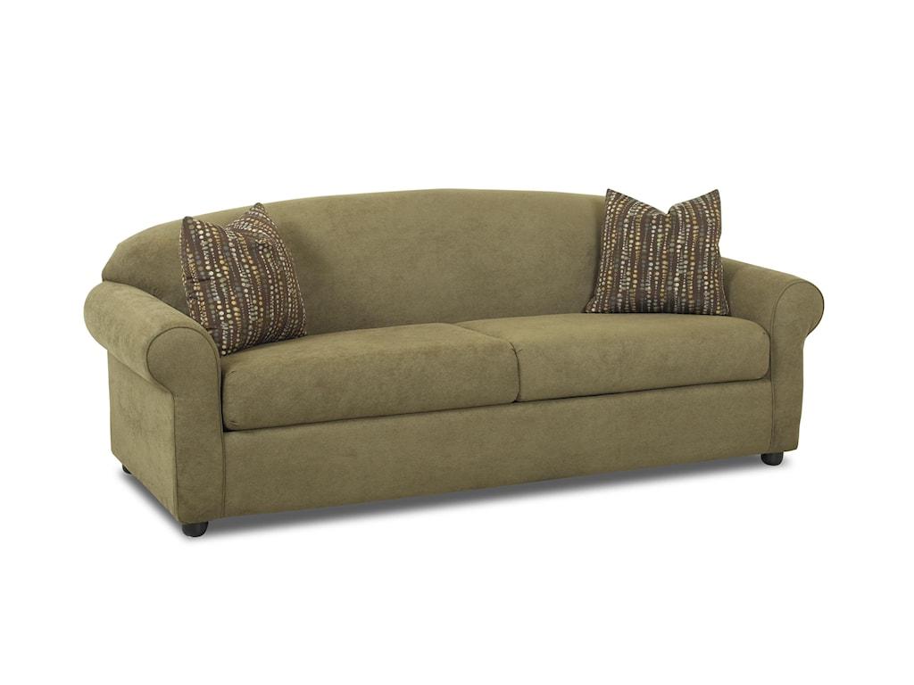 Klaussner PossibilitiesRolled Arm Sofa
