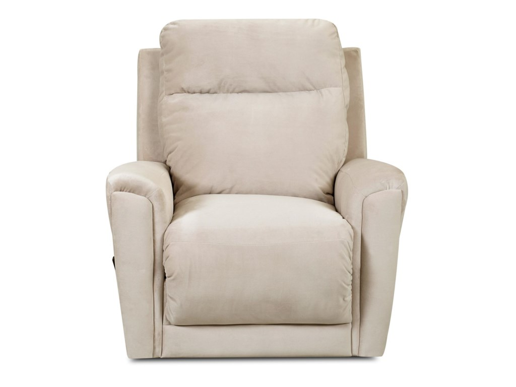 Klaussner PriestTransitional Swivel Rocking Reclining Chair