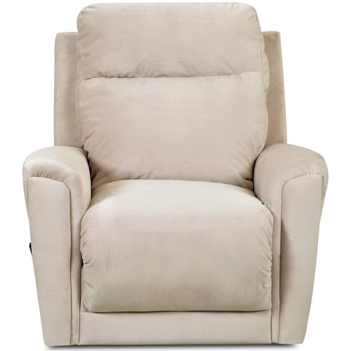 Klaussner Priest Transitional Swivel Rocking Reclining Chair