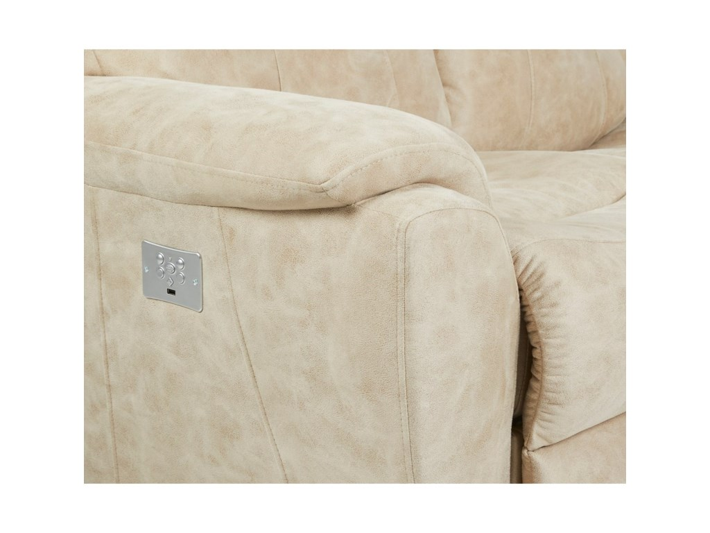 Klaussner ProximoPower Reclining Sofa w/ Pwr Headrests/Lumbar