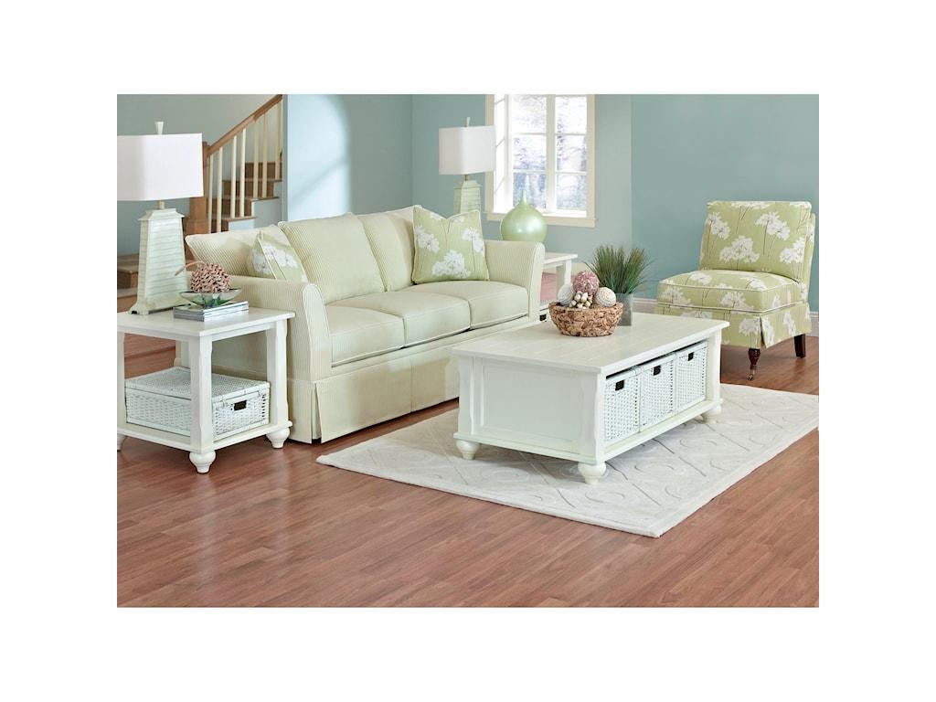 Klaussner RamonaQueen Innerspring Sleeper Sofa
