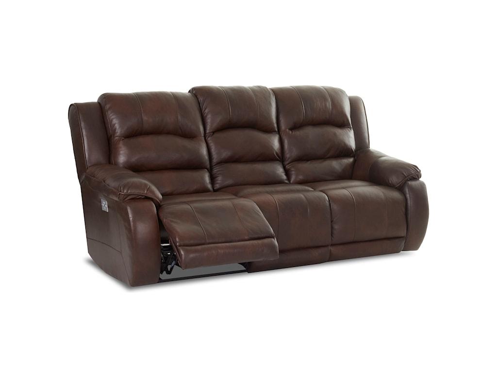 Klaussner ReubenPower Reclining Sofa