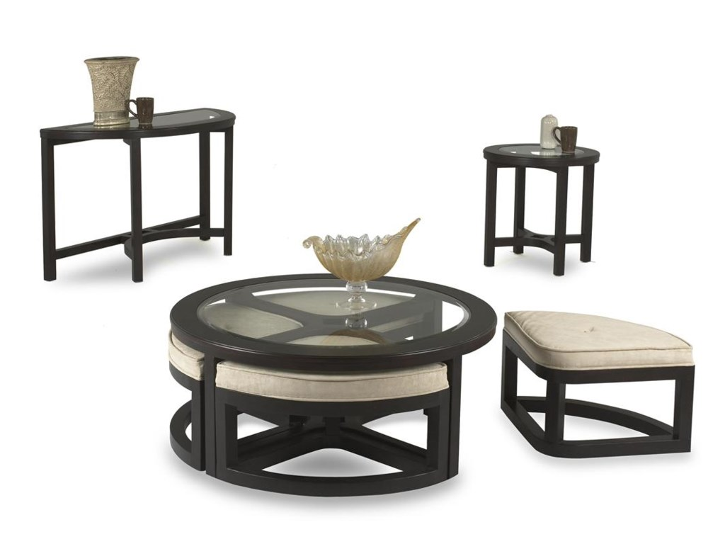 Klaussner International RingletRound Cocktail Table