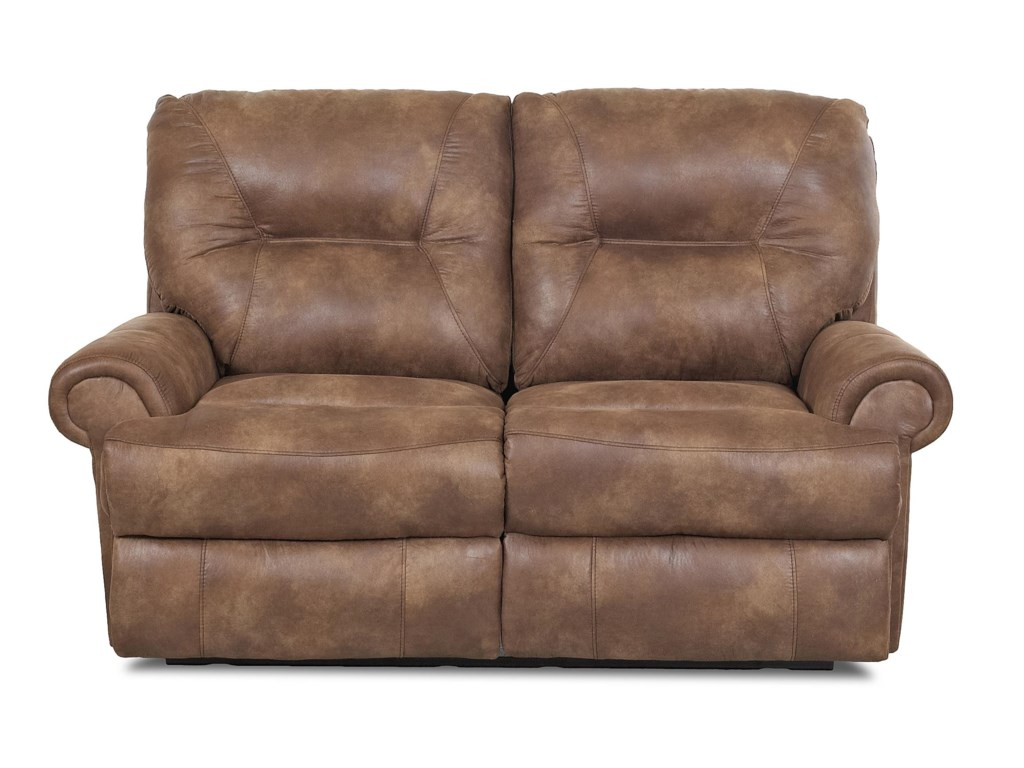 Klaussner RoadsterTraditional Reclining Loveseat
