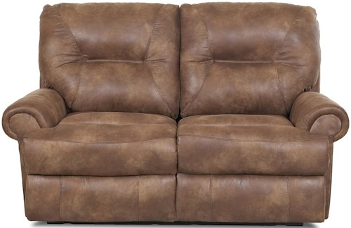 Klaussner Roadster Traditional Reclining Loveseat