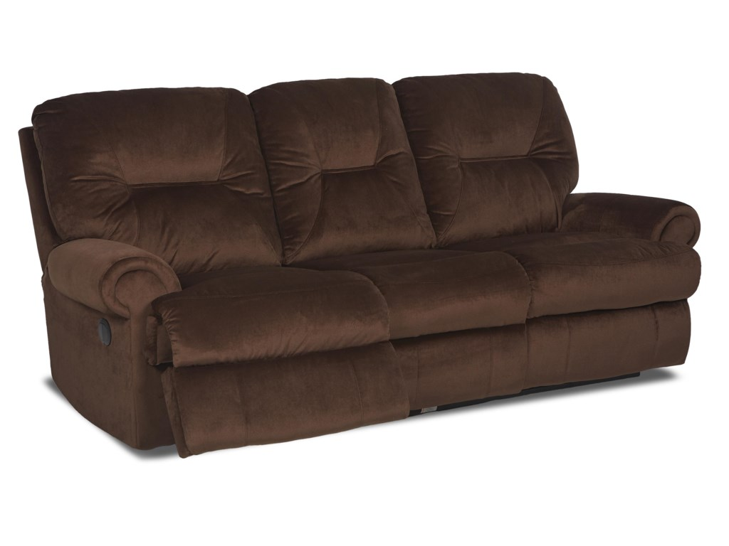 Klaussner RoadsterTraditional Reclining Sofa