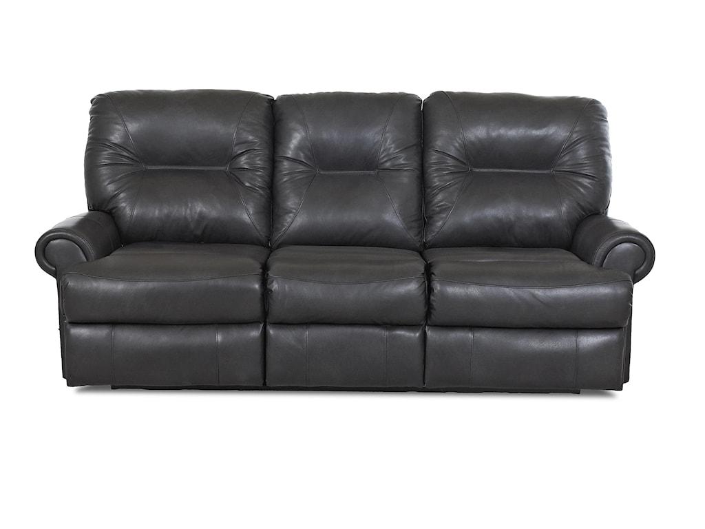 Klaussner RoadsterTraditional Power Reclining Sofa