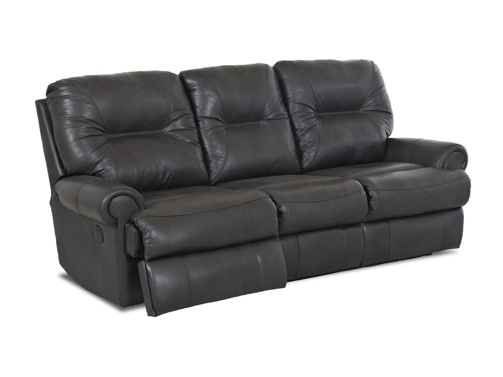 Klaussner RoadsterTraditional Power Reclining Sofa