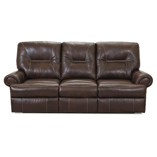 Klaussner Roadster Traditional Power Reclining Sofa