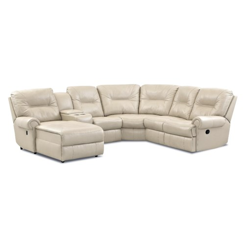 Klaussner Roadster Traditional Reclining Sectional Sofa Value City Furniture Reclining