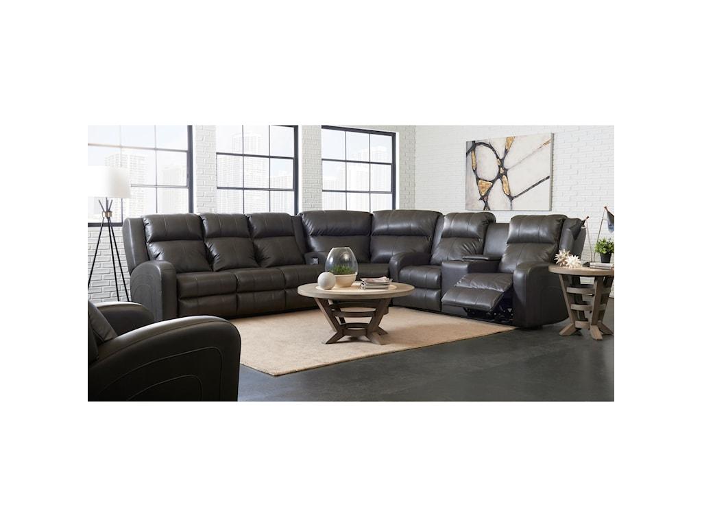 Elliston Place Robinson3 Pc Reclining Sectional Sofa