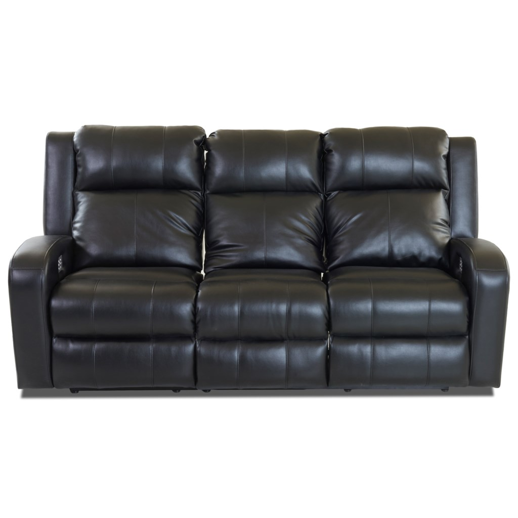 Elliston Place Robinson Casual Power Reclining Sofa With Power