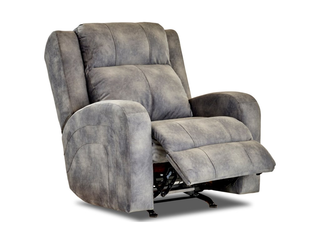 Klaussner RobinsonPower Reclining Chair w/ Pwr Head and Lumbar