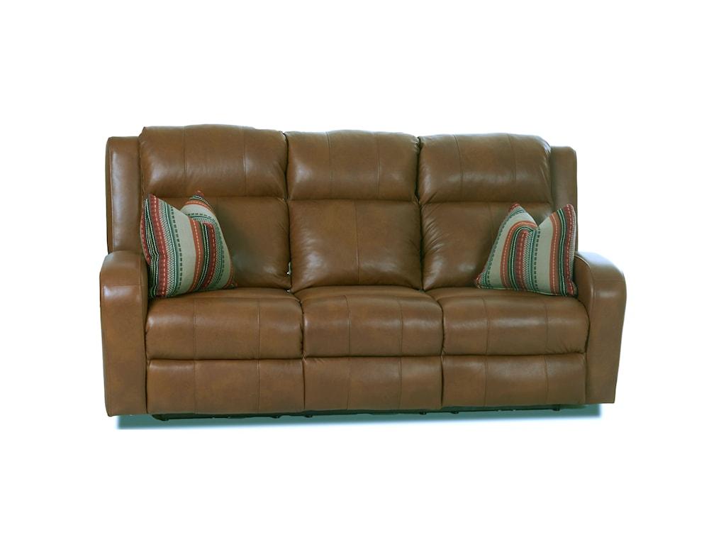 Klaussner RobinsonPower Reclining Sofa w/ Pillows