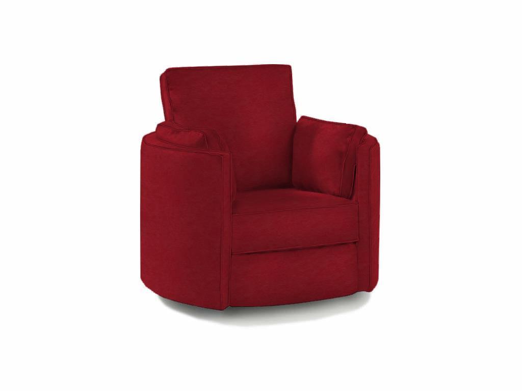 Superieur Klaussner RyderTransitional Reclining Swivel Chair