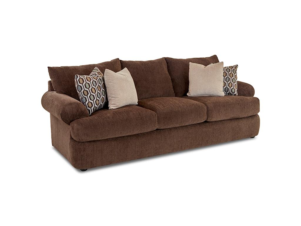 Klaussner SamanthaUpholstered Stationary Sofa