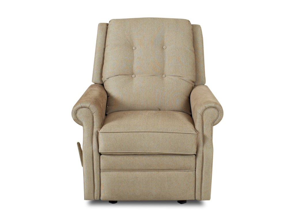 Klaussner Sand KeyManual Gliding Reclining Chair